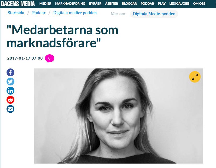 Emma Lindgren Digitala mediepodden